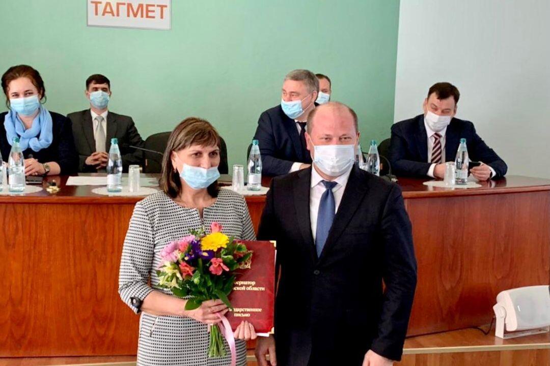 Таганрогский металлургический завод отмечает двадцатилетие