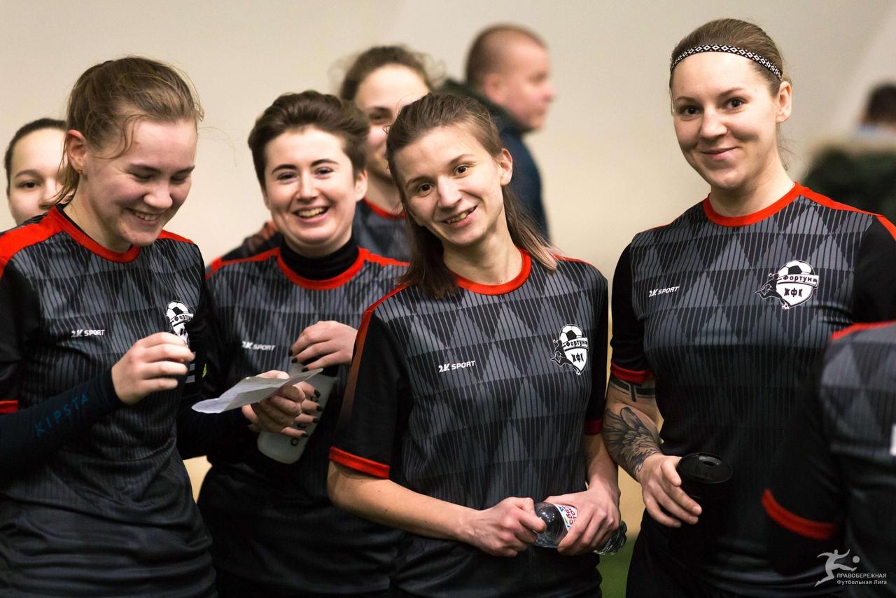 Юлия Мохнаткина, Мария Новикова, Алина Румянцева и Мария Алешина (Фортуна)