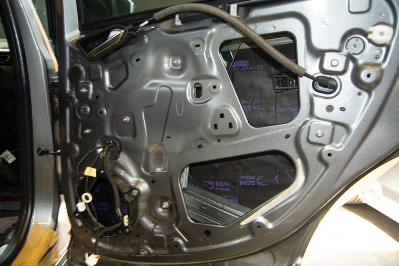 Комплексная шумоизоляция Renault Arkana, изображение №11