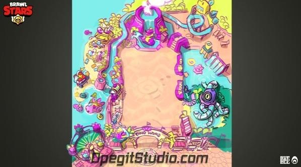 Официальные концепты Велоцираптопляжа от студии Ocellus Art и