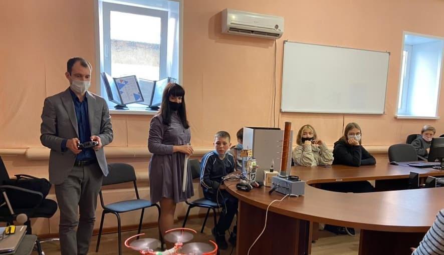 Петровские школьники стали участниками круглого стола «Новая профессия: ваш шанс»