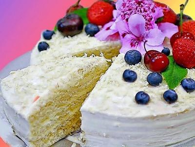 Йогуртовые кремы для тортов, пирожных и десертов - рецепты