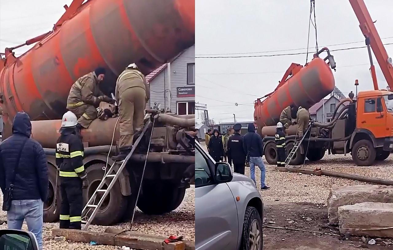 Во время работ на привокзальной площади в Кимрах погиб человек, СК проводит проверку