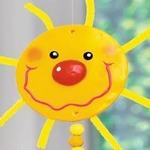 «Солнышки» — интерьерный декор к Масленице — МК