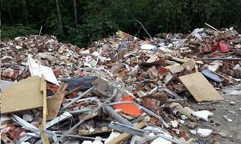 Нет контейнера для строительных отходов – плати шт...