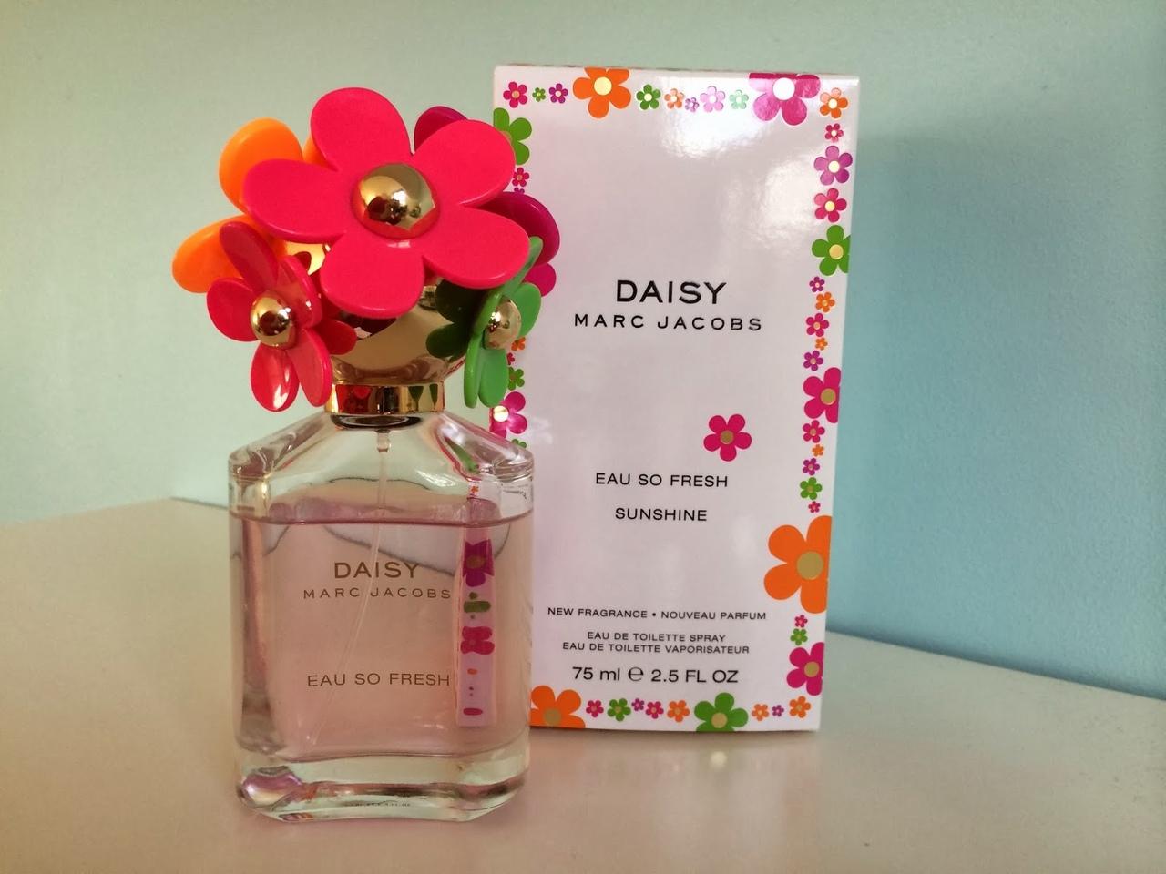 Marc Jacobs Daisy Eau So Fresh Sunshine 100 ml. 1650 рублей.