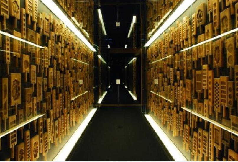 Японские деревянные резные формы Кашигата, изображение №32