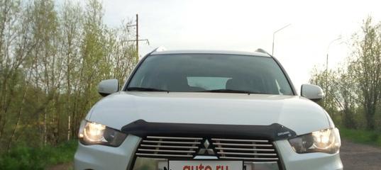 Купить б/у Mitsubishi Outlander II Рестайлинг 2.0 CVT (147 л.с.) бензин вариатор в Ухте: белый Митсубиси..