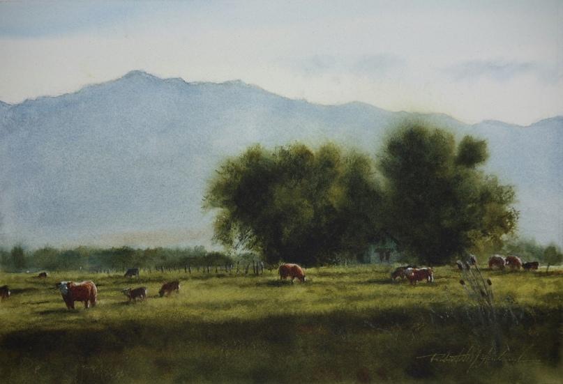 Американский художник-акварелист. Robert McFarland, изображение №25