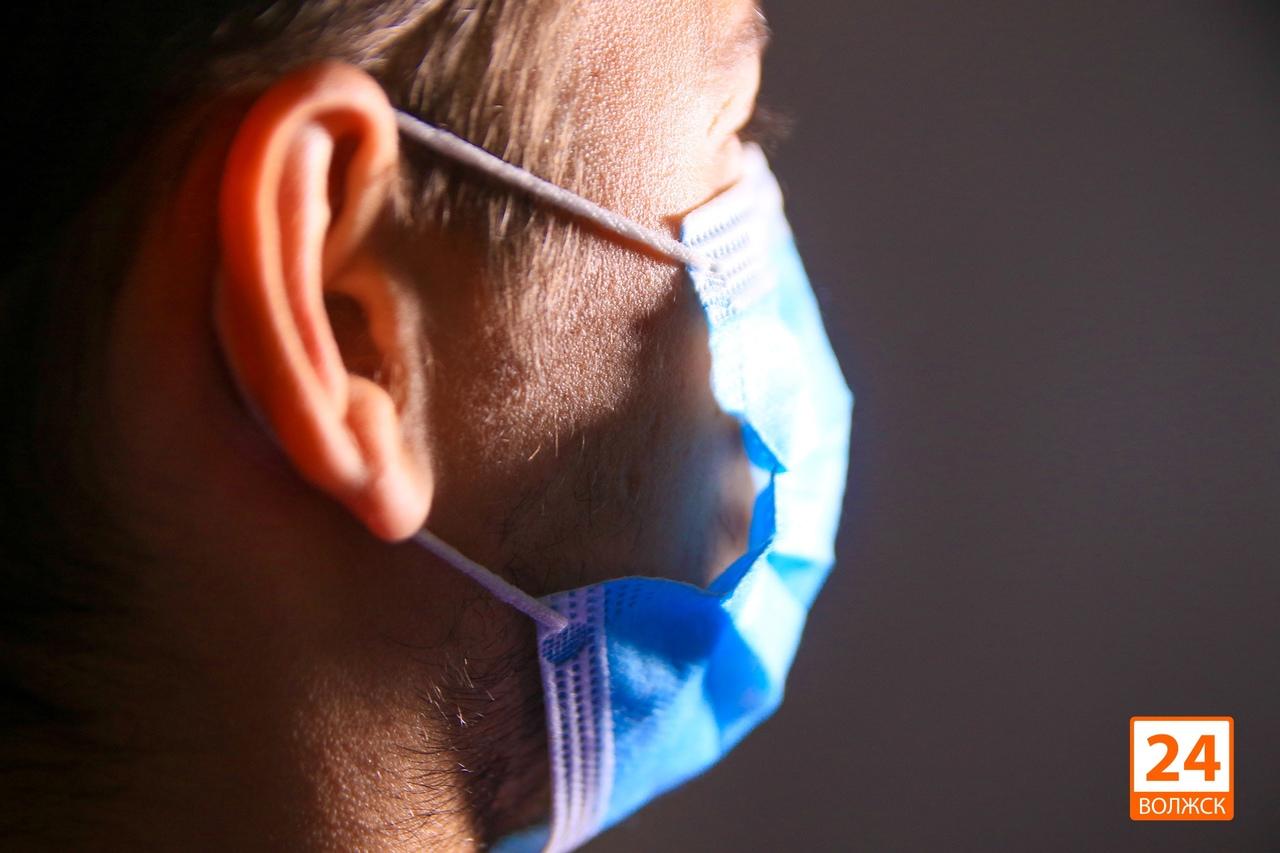 В Волжской ЦГБ лечатся 60 пациентов с пневмонией