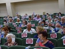 """В Копцевых Хуторах выбрали председателя правления областной организации """"ВОИ"""""""