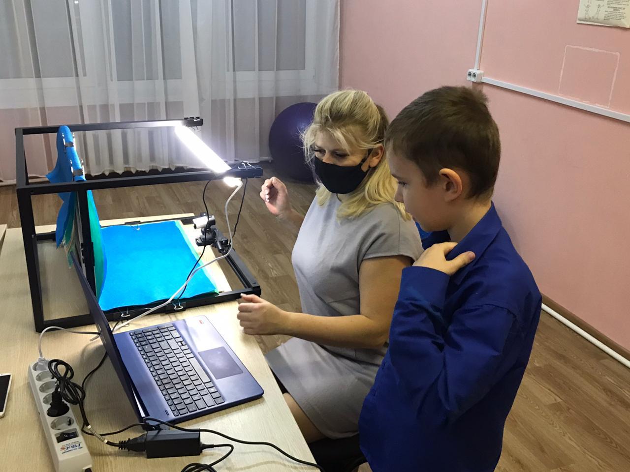 Мастер-класс по анимации в КЦСО