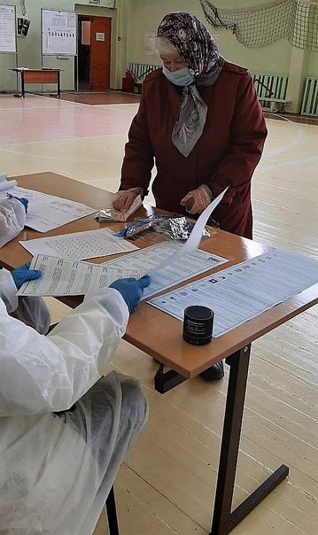 Продолжаются выборы в Государственную Думу РФ