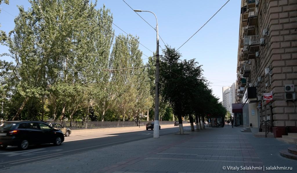 Прогулка по проспекту Ленина в Волгограде 2020