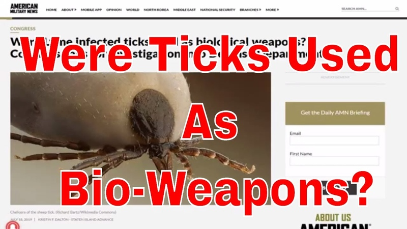 Were Lyme Infected Ticks Used As Biological Weapons