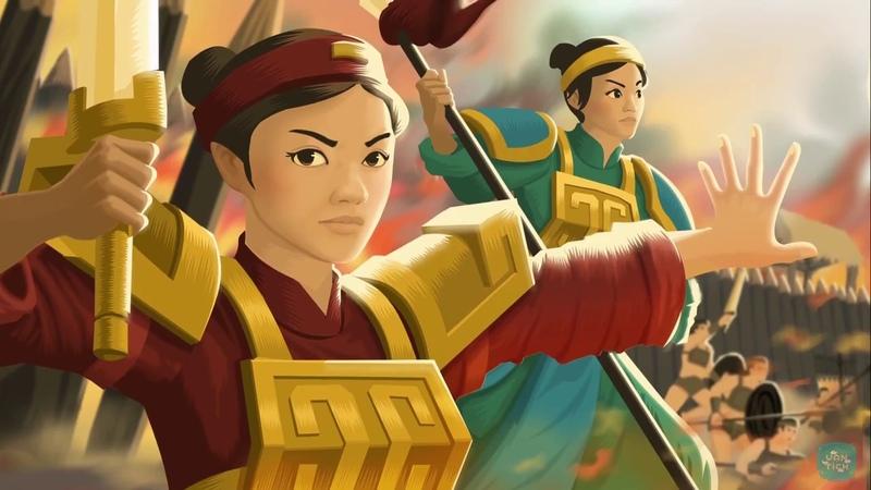Thần thoại sử Việt Giai thoại Lịch sử Hai Bà Trưng