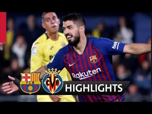 Вильярреал 4-4 Барселона Обзор матча 02/04/2019