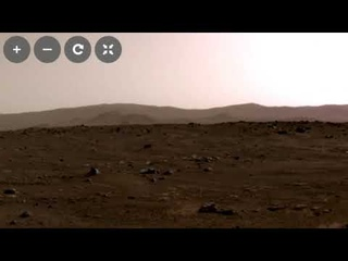 Mars Perseverance First 360 Degree Panorama