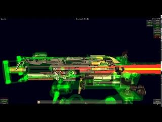 Slow Mo Of Browning M2 .50 Caliber Machine Gun Firing (How It Works Browning M2 .50 Cal Machine Gun)