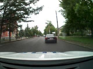 В Туле водитель Audi пытался скрыться от ГИБДД и устроил ДТП.MP4