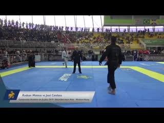 Rudson mateus vs josé cardoso _ brasileiro 2019