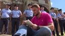 Kosovo Students Stage Sit-in Around Serb-built Orthodox Church