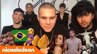 O CNCO conhece o Brasil de verdade? | Nickelodeon em Português