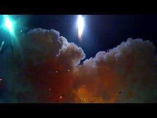 Пуск ракеты-носителя легкого класса Рокот с космодрома Плесецк