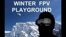 Winter FPV Playground (Wing Fun in Mountain Snow Paradise)