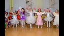 Красивый танец бусинок Новогодний утренник в детском саду Средняя группа