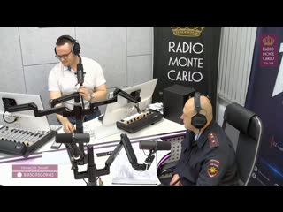 Станислав Бондаренко (ГИБДД России по Омской области) на Radio Monte Carlo Омск. Дорожный акцент. Водительские удостоверения