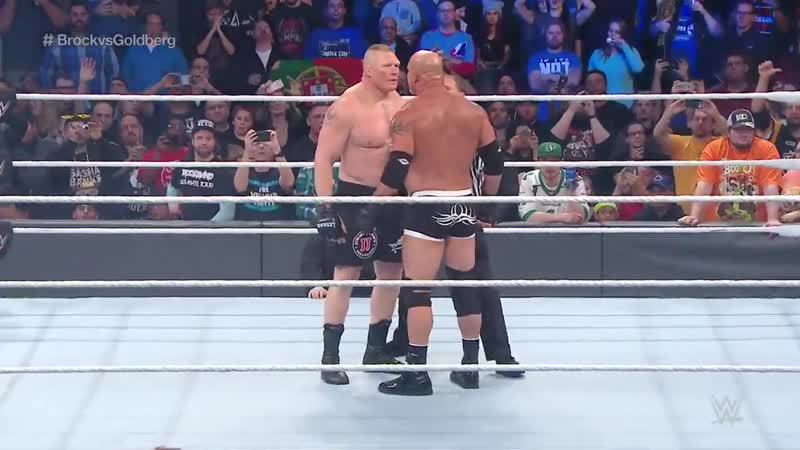 FULL MATCH Goldberg vs Brock Lesnar Survivor Series 2016