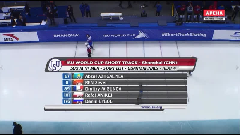 Day 2 ISU World Cup 2019 20 Shanghai CHN