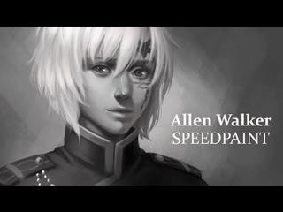Allen Walker [D. Gray man] Speedpaint