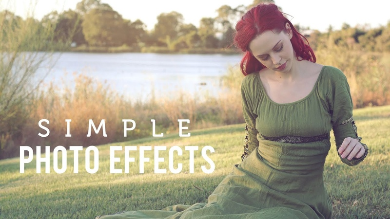 Photo Effects with Three Adjustment Layers