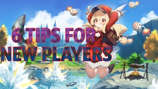GENSHIN IMPACT: 6 TIPS AND TRICKS FOR NEW PLAYERS. VERSION 1.2