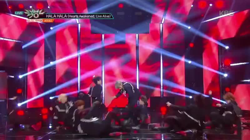 ATEEZ Wooyoung Hala Hala ending compilation 720p mp4