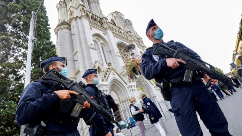 Jihadi Murders Three Christians at Notre Dame Basilica