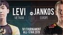Levi Vayne vs Jankos Olaf - All-Star Las Vegas 2019 1v1 Round of 8 - Levi vs Jankos