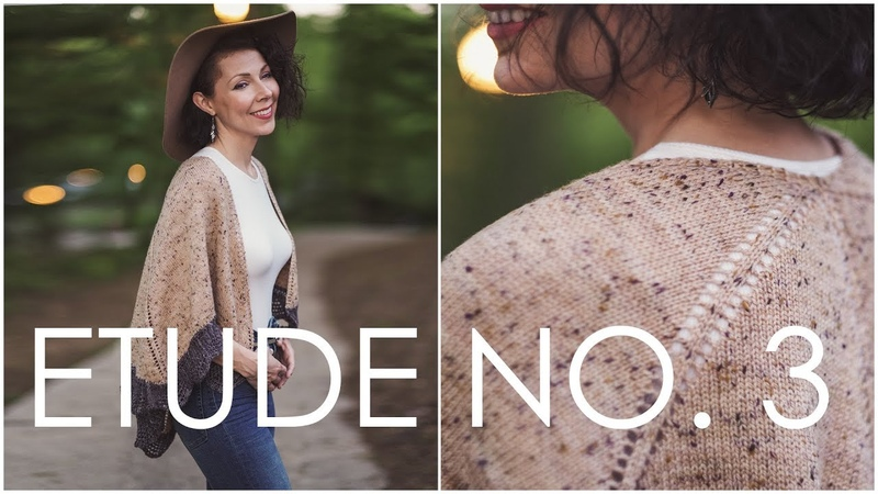 How to Work a Knitted On Border Etude no 3 Shawl Pattern