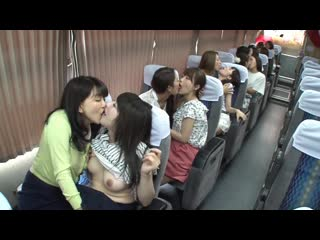 JUY-004 Dream Of Madonna Large Co-star! !lesbian Gangbang Bus Tour Of The Night Two Days That Yoshijuku Woman Go!