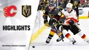 Вегас Калгари NHL Highlights Flames @ Golden Knights 11 17 19