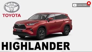 New Toyota Highlander XU70 Acceleration 0-100. 249HP 2020 Разгон нового Highlander от 0 до 100.