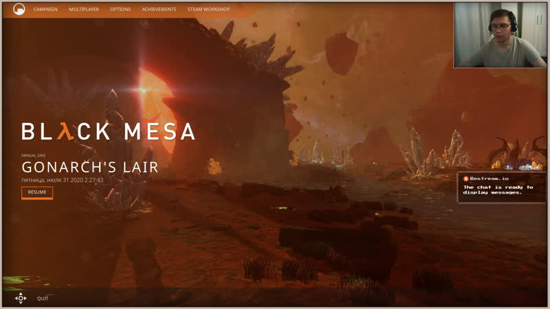 Полураспад стрим №26 Black Mesa Шляпа до Ксена