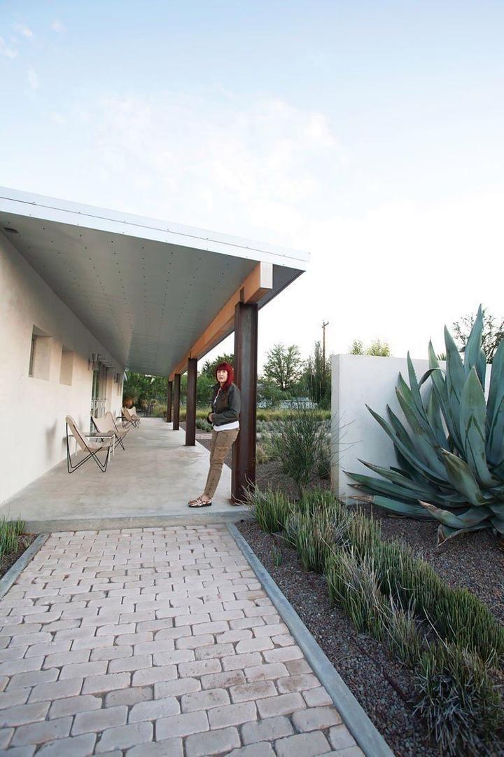 Weekend house in Marfa, Texas by Barbara Hill
