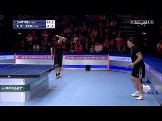 World championships of Ping Pong 2014. Final: Shmyrev (RUS) - Lupulesku (USA)
