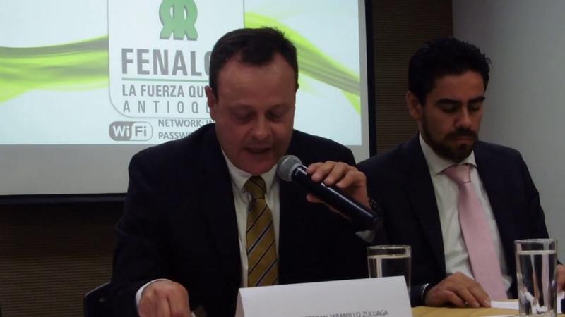 Calos Esteban Jaramillo nuevo presidente junta Fenalco Antioquia