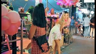 Pattaya Nightlife. Beer bars girls. Short Scenes
