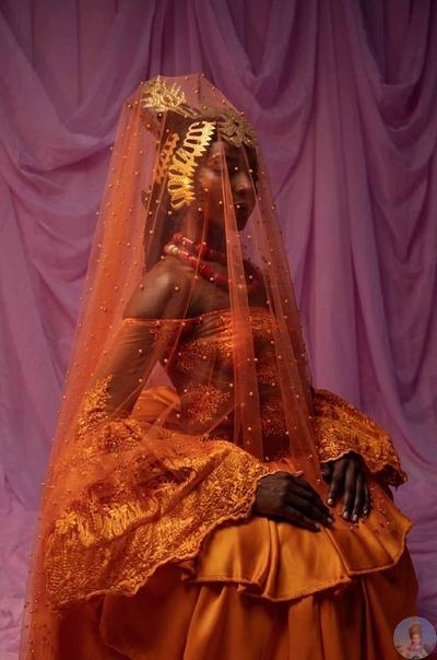 Прекрасные дочери Африки: Lain Ogunbanwo фотографирует невест в Нигерии