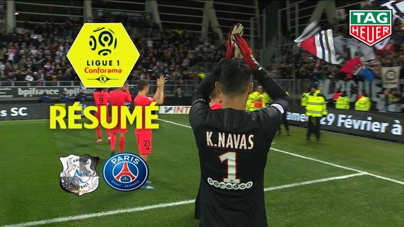 Amiens SC Paris Saint Germain 4 4 R sum ASC PARIS 2019 20